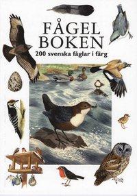 F�gelboken: 200 svenska f�glar i f�rg (inbunden)