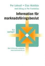Information för marknadsföringsbeslut