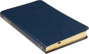 Folkbibeln 2015 Slimline blå konstskinn
