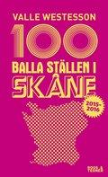 100 balla st�llen i Sk�ne 2015-2016