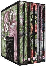 Uppv�xtklassiker (box). Alice i underlandet ; Den hemliga tr�dg�rden ; Pappa L�ngben ; Unga kvinnor ; Agnes Cecila : en s�llsam historia (kartonnage)