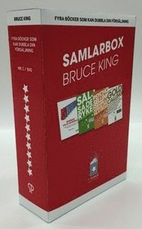 Bruce King - Fyra b�cker som kan dubbla din f�rs�ljning Samlarbox (inbunden)