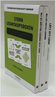 Stora Ledarskapsboxen – Tre böcker som utvecklar ditt ledarskap