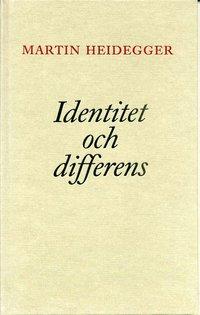 Identitet och differens (h�ftad)
