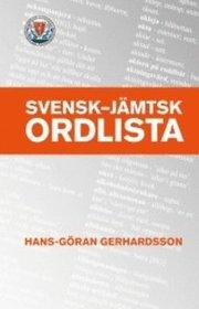 Svensk – jämtsk ordlista