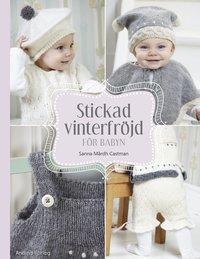 Stickad vinterfr�jd f�r babyn (inbunden)