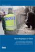 Brott beg�ngna av barn : en utv�rdering av �ndringarna i lagen med s�rskilda best�mmelser om unga lag�vertr�dare under 15 �r