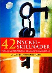 42 Nyckelskillnader : för djupare förståelse av Nonviolent Communication