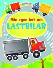 Min egen bok om lastbilar – pysselbok med klistermärken