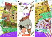 Djur – klistra och färglägg! : innehåller över 1 000 klistermärken