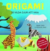 Origami : 35 vilda djur att vika (h�ftad)