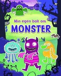 Min egen bok om monster (häftad)