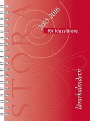 Stora lärarkalendern för klasslärare 2015/2016