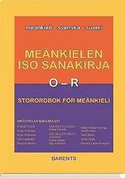 Storordbok för meänkieli