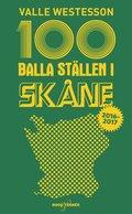 100 balla st�llen i Sk�ne 2016-2017