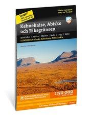 Kebnekaise Abisko och Riksgränsen 1:50.000
