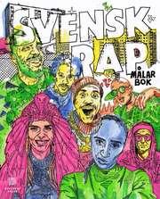 Svensk Rap målarbok