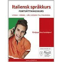 Italiensk språkkurs. Fortsättningskurs (ljudbok)