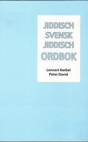 Jiddisch-svensk-jiddisch ordbok