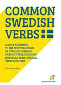 2000 common swedish verbs - quick reference to the essential forms includin