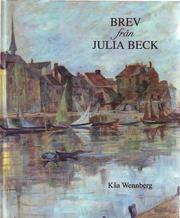 Brev från Julia Beck