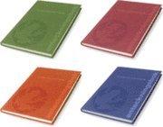 Klum Collection Anteckningsbok, 4-pack (inbunden)