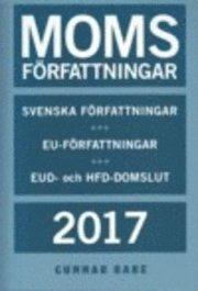Momsförfattningar 2017