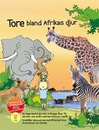 Tore bland Afrikas djur (kartonnage)