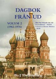 Dagbok från UD Vol 2. Neutraliteten – NATO : i kommunismens Moskva – KGB