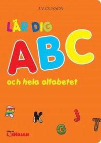 L�r dig ABC och hela alfabetet (h�ftad)