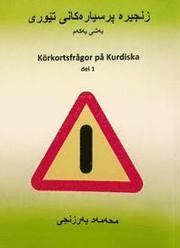 Körkortsfrågor på Kurdiska del 1