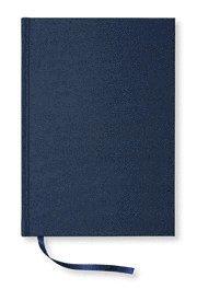 NoteBook textil linjerad marin A5