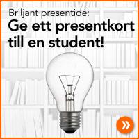K�p ett presentkort till studenten