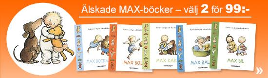 V�lj 2 MAX-b�cker f�r 99:-