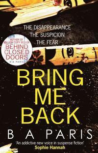 Bring Me Back (häftad)