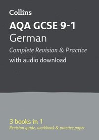 Grade 9-1 GCSE German AQA All-in-One Complete Revision and Practice (with free flashcard download) (häftad)