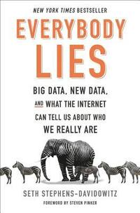 Everybody Lies: Big Data, New Data, and What the Internet Can Tell Us about Who We Really Are (inbunden)
