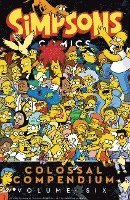 Simpsons Comics Colossal Compendium Volume 6 (häftad)