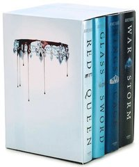 Red Queen 4-Book Hardcover Box Set: Books 1-4 (inbunden)