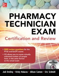Pharmacy Technician Exam Certification and Review (häftad)