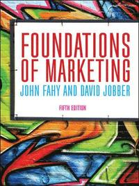 Foundations of Marketing (häftad)