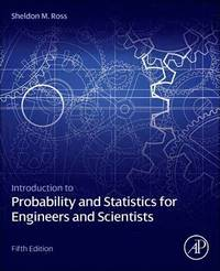 Introduction to Probability and Statistics for Engineers and Scientists (inbunden)