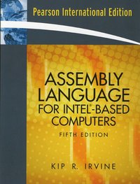 Assembly Language for Intel-Based Computers av Kip R Irvine (Häftad)