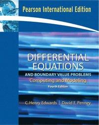 Differential Equations and Boundary Value Problems av C Henry Edwards  (Häftad)