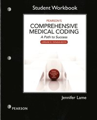 Workbook for Pearson's Comprehensive Medical Coding (häftad)
