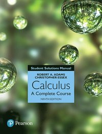 Student Solutions Manual for Calculus: A Complete Course, 9/e (häftad)