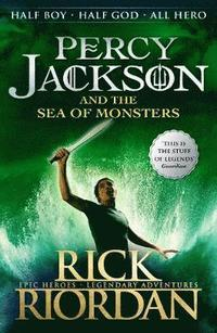 Percy Jackson and the Sea of Monsters (Book 2) (häftad)