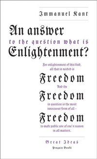 Answer to the Question: 'What is Enlightenment?' (e-bok)