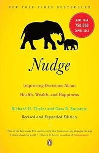 Nudge: Improving Decisions about Health, Wealth, and Happiness (häftad)