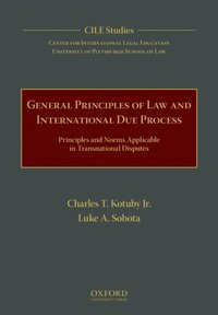 General Principles of Law and International Due Process (e-bok)